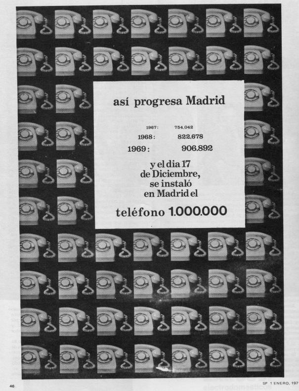 Anuncio, pag 46 Revista SP, 1 enero 1971