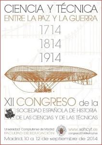 Cartel XII Congreso SEHCYT 2014