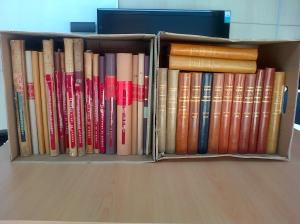 Sesión de trabajo en el archivo histórico de Standard Eléctrica S.A.