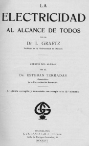 Portada Graetz 1926