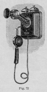 Telefono mural Graetz 1926