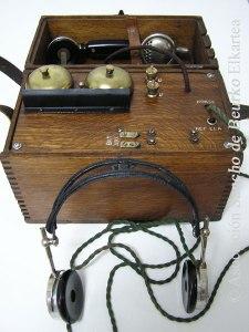 Telefono de Campaña 1937. Foto de sanchodebeurko.org