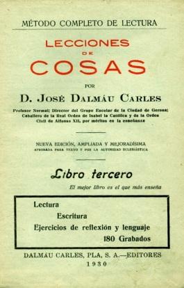 Lecciones de Cosas J Dalmau 1930