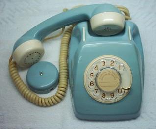 Telefono modelo Heraldo y su roseta (http://antiguedadesurbanas.blogspot.com.es/)