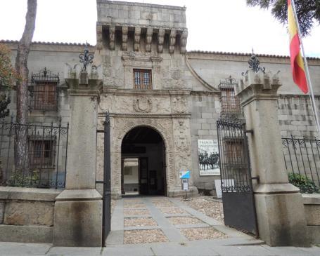 Entrada del Archivo Militar de Ávila (fotografía de Pablo Soler)