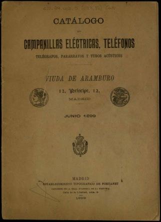 Catálogo Aramburo 1988