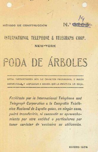 Portada_1926_MetodoConstruccion ITT 014 Poda de Arboles