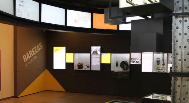 """Expo """"Rarezas de Colección"""" Espacio Fundación Telefónica. Foto de su web."""