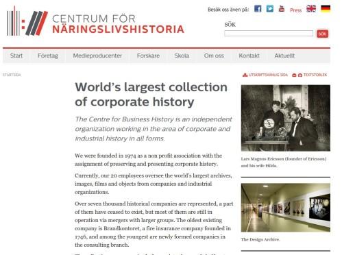 Web Centre Busines history
