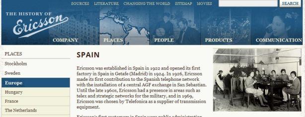 WebEricssonHistory_Spain