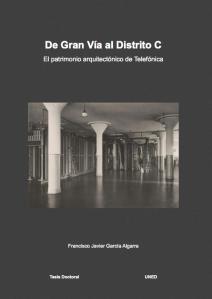 Portada de la Tesis de J. García Algarra