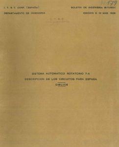 Portada del Libro Sistema Automático Rotatorio 7A Dibujos