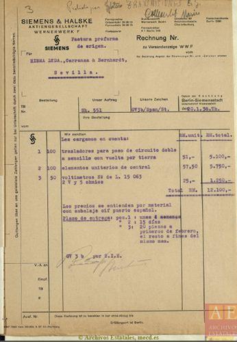 Documento ahn023 Material Telefónico Siemens 1938