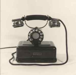 Teléfono automatico Standard Electrica. Archivo Fundación Telefónica