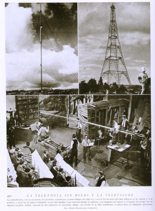 """Lámina 491 """"Mil Aspectos de la Tierra y el Espacio"""" Tomo I, I. Gallach 1959"""