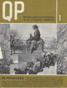 Revista QP para empleados de Telefónica (1967 - 1987)