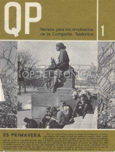 Portada del Num 1, Abril 1967, de la Revista QP