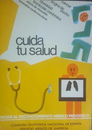"Cartel ""Cuida tu Salud"""