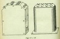 Fig. 117 y 118. Bobinas Fantasmas. Alemana (izq) y Standard (dcha).