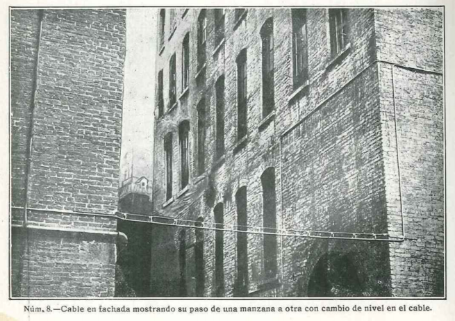 Lámina 8 1927_Nº021 (5220) Tendido de Cables en Manzana
