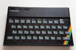 Ordenador ZX Spectrum de 1987