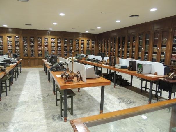 Museo Academia de Ingenieros. Sala de Transmisiones
