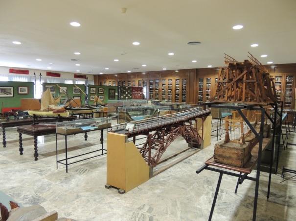 Museo Academia de Ingenieros. Sala de Puentes