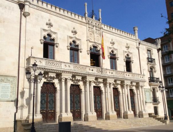 Palacio de Capitania Burgos, en dónde se inauguró HISTICDEF 2016