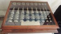 Vitrina cables telefónicos coaxiales