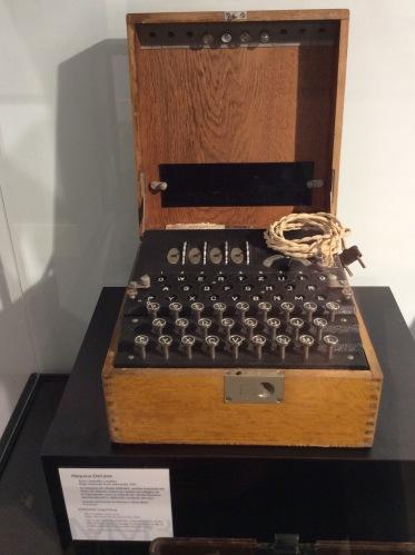 Máquina criptográfica ENIGMA Hugo Alexander Kock 1923 Alemania
