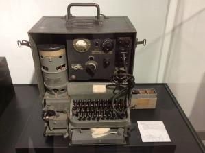 Teletipo alemán tipo Rudolf Hell 1943