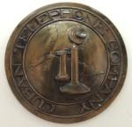 Logotipo de la Cuban Telephone Company, expuesto en el museo