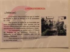 """Referencia a la primera """"videoconferencia"""" en España Burgos 1938"""