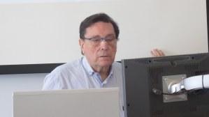 Jesús Sánchez Miñana en su intervención