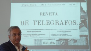 Ángel Toca Otero en su intervención en la Trobada