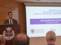 Rector de la UPV Francisco Jose Mora Mas