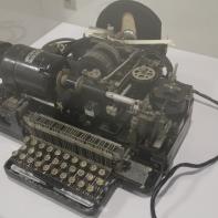 Teletipo Creed años 1940-50. CCITT #2 (5 bits)
