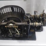 Teletipo traductor Morse Creed receptor años 1930