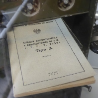 Estación Radiotelefónica y telegráfica portátil Marconi Tipo A Manual