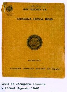 Listin Aragón 1946