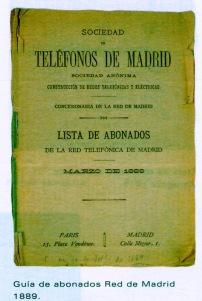 Listin Madrid 1889