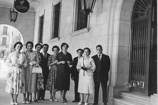 Telefonistas Teruel año 56