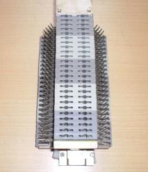 Regleta de corte y prueba tipo V600 (aquí para 50 pares)