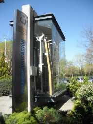 Sección de central Rotary en el Campus Sur de la Universidad Politécnica de Madrid