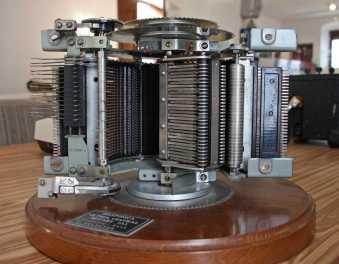 Selector de una central de conmutación telefónica del sistema Rotary
