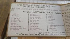 Prontuario Telefonemas Cía Peninsular. Foto web de todocolección