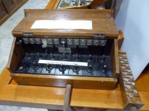 Centralita de Campaña Ericsson ( Museo de Hoyo del Manzanares)
