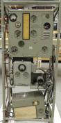 Estación de Radio RA350 tipo aviación italiana de la marca Allocchio, Bacchini (Museo del Ejército de Toledo)