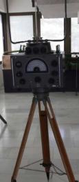 Radiogoniómetro aleman Telefunken P-100/1 . Exposición del Acuartelamiento de El Pardo, Madrid