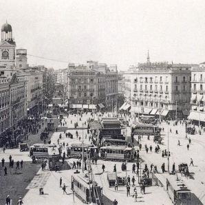 Puerta del Sol hacia 1910-20. @SecretosdeMadri